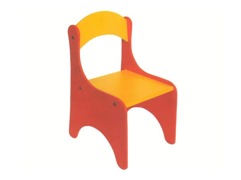 ARIEL, Colorful chair for babies,demountable, for kindergarten