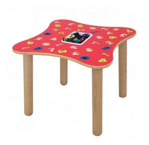 MARAMEO/N, Educational table with numbers, made of birch plywood