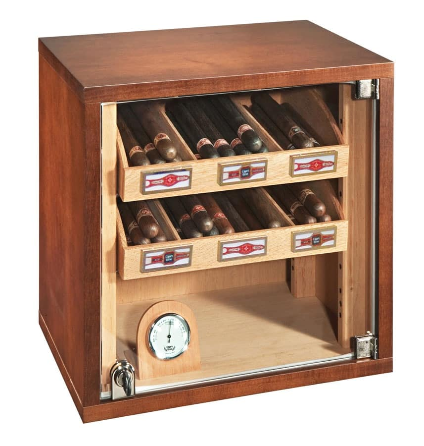 Humidified Cigar Cabinet Suitable For Tobacco Idfdesign