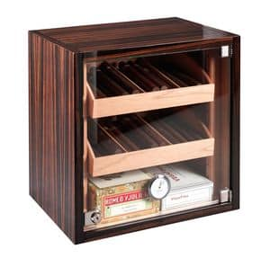 82370 Dakota, Humidified cigar cabinet, suitable for Tobacco