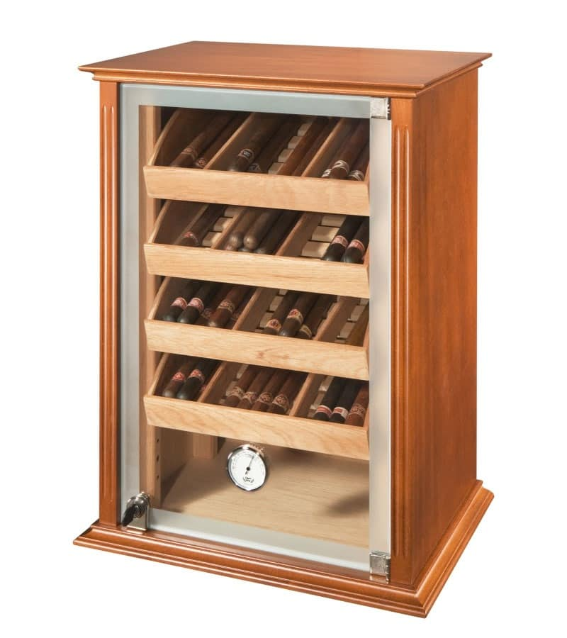 Humidity Controlled Static Humidor For Tobacco Shop