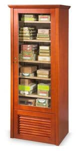 82381 Easy Clima, Conditioned showcase for cigars, for Tobacco shop