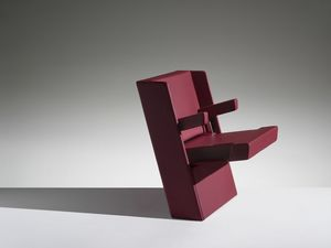 GENYA, Armchair with reclosable seat for auditorium