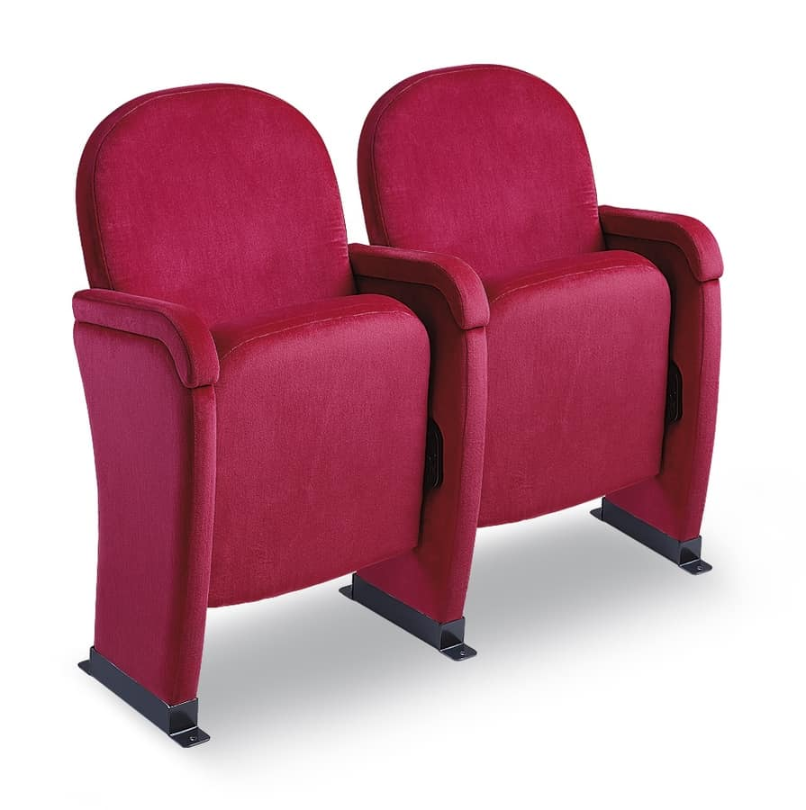 Chair With Folding Seat For Theater Halls IDFdesign