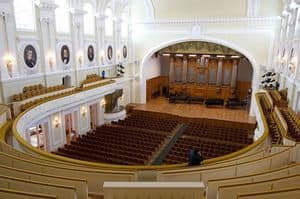 Picture of Moscow Conservatory, comfortable armchairs