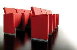 Quadra, Auditorium seating, reclining seat
