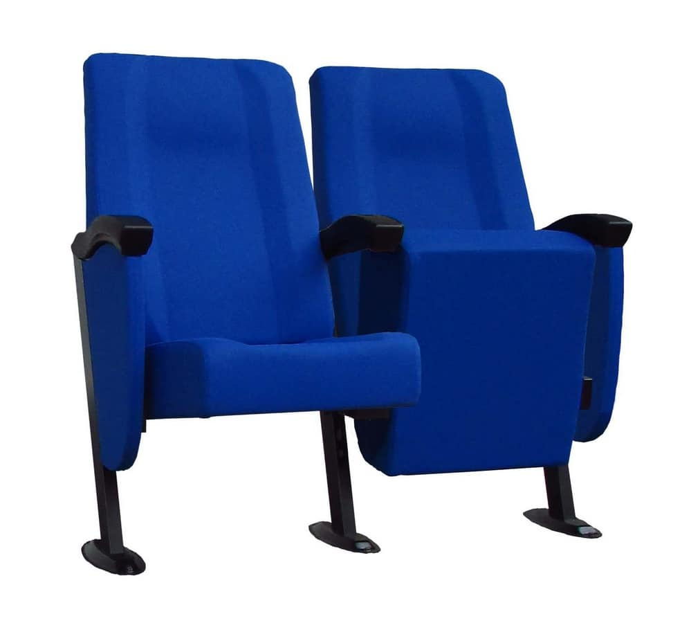 Simplex 1, Upholstered modular armchair for cinemas and theaters