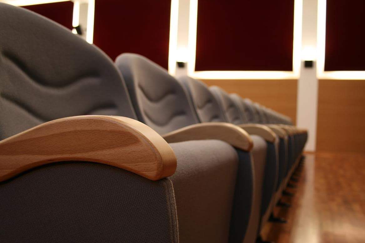 Simplex 2, Fireproof modular Armchairs for theater and congress hall