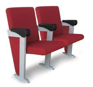 Simplex X, Approachable chair for congress halls and auditoriums