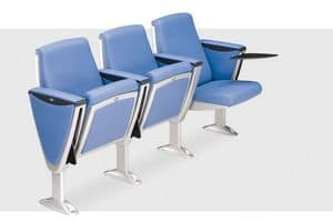 Picture of Steel, linking armchairs