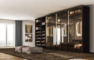 Atmosfera wardrobe, Elegant wardrobe with hinged doors
