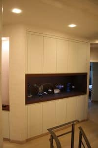 Hallway closet 01, Modular cabinets for hallway, customizable finishes