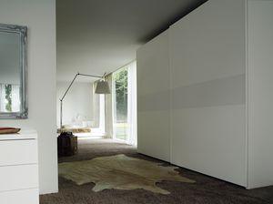 LINE, Wardrobe with sliding doors