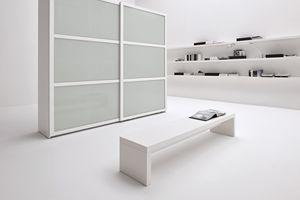 OPUS, Solid wood wardrobe with sliding doors