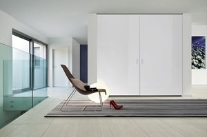 Soft Wardrobe coplanar tailored, Wardrobe with coplanar doors, made to measure