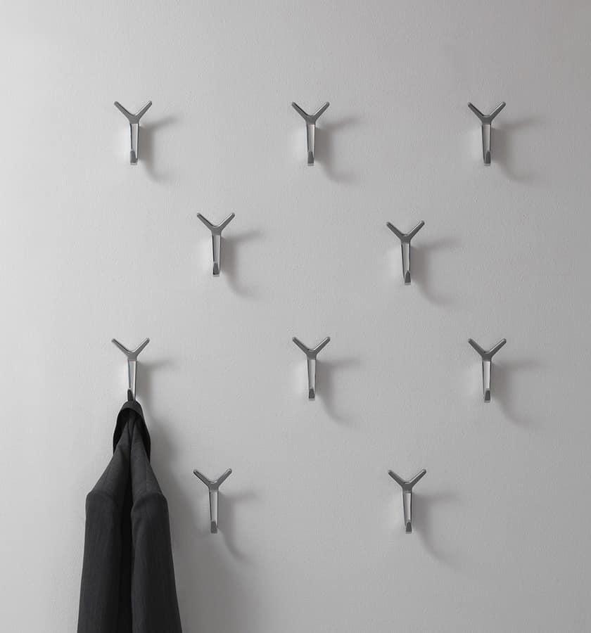 Modern Aluminum Wall Hanger For The Office Idfdesign
