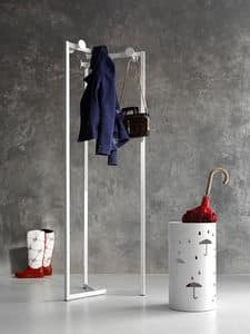 Cabaret coat stand, Hanger in 30s style, 3 external support
