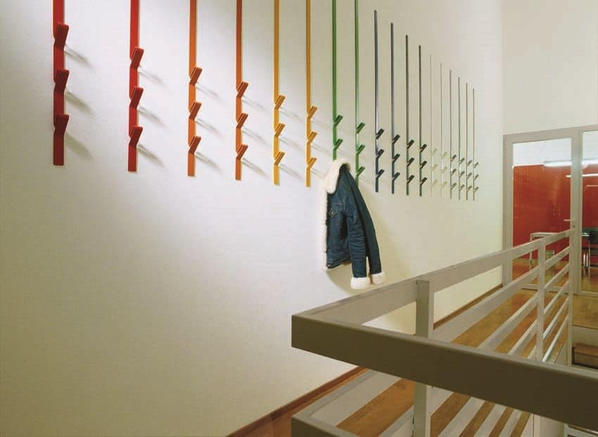 Coat Hooks Modular In Metal For Residential And