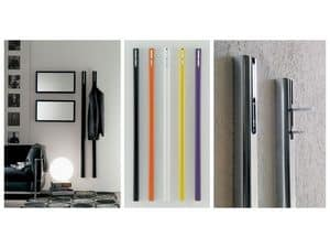 k120 pinocchio, Wall clothes rail, with retractable hook