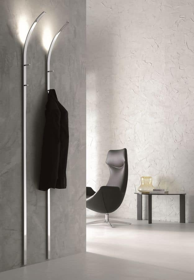 Clothes Stand With Led Lighting Idfdesign