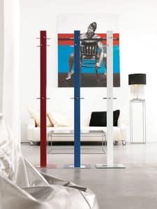 k203 palito, Modern coat hangers in painted metal