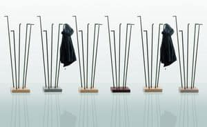 ROD composition living, Hanger with metal rods, customizable