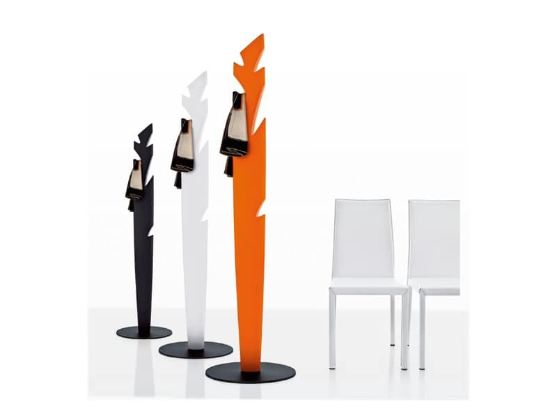 Modern Coat Stand In Polyethylene In Various Colors