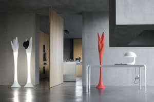 Picture of SPIGA with light, modern coat hanger