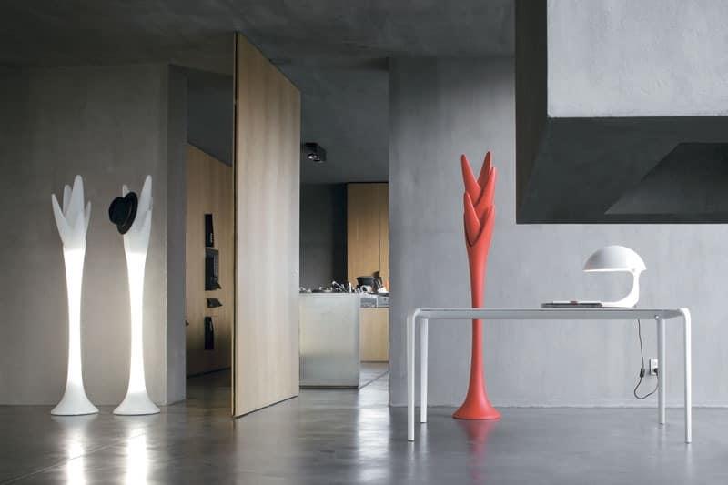 Coat Hanger In Plastic With Internal Light Idfdesign