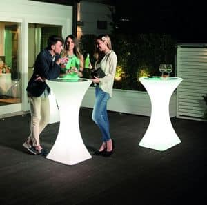 Picture of Brazil cocktail table, tall-bar-tables