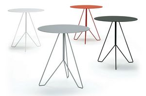 Marocchino, Fireproof table painted with epoxy powders