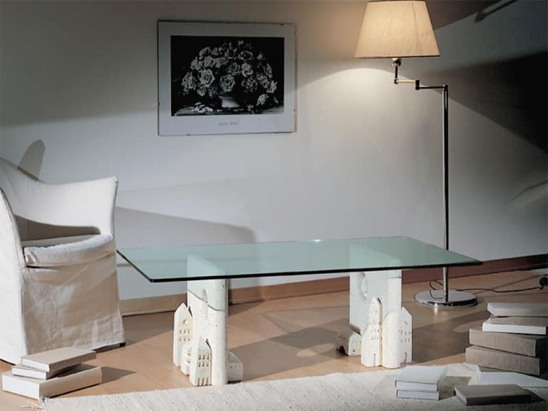Carioca, Coffee table made of stone, contemporary style