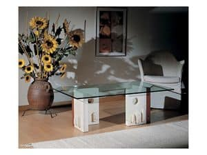 Picture of Celeste, glass top table