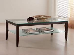 Picture of Sacs, linear design small table