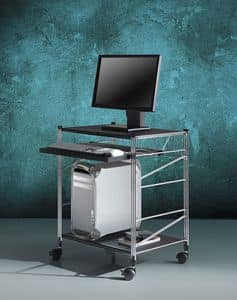 Picture of Socrate computer trolley 2, computer furniture