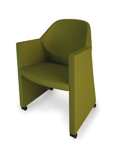 NESTAR, Tub chair, robust and agile, for waiting room