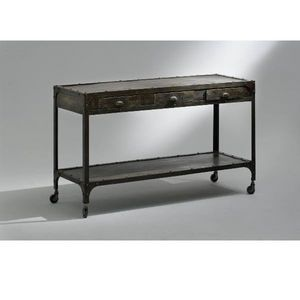 CONSOLE INDUSTRY DRAWERS, Metal consoles