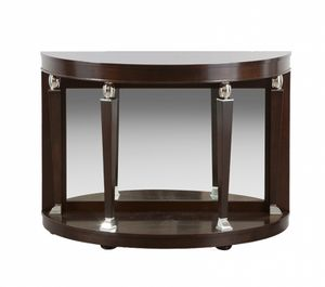 Heritage semicircular console, Semicircular console with mirror