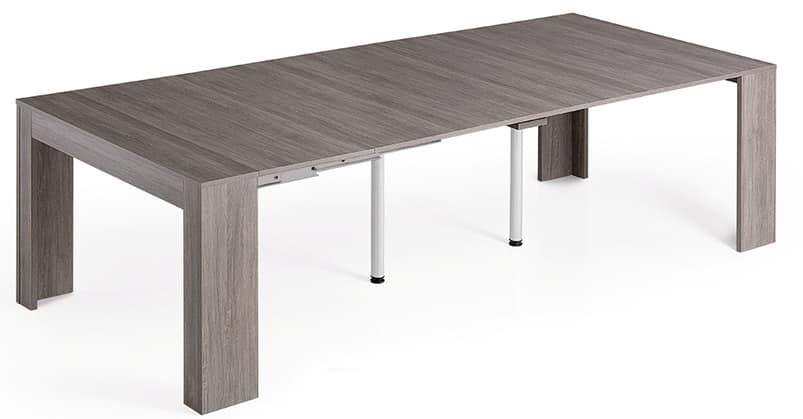 Console convertible to a dining table for 14 people idfdesign - Console convertible table ...