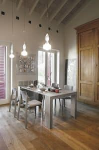 PANDORA 2M CO505, Console extensible in laminate, for dining rooms