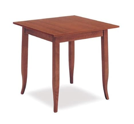 FT 600, Classic wooden table, for hotel and restaurant