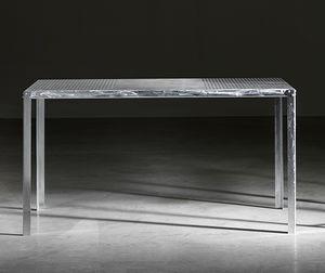TA52, Rectangular table in galvanized steel