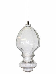 Ceraunavolta AC134 7S INT, Glass lamp with classic design