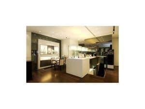 Picture of Bortolin jewellery shop - Udine, made-on-measure hotel furniture