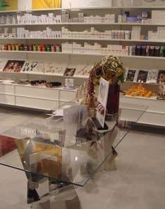 Furniture for perfumery, Shelving and custom furnishings, for perfumery or shop