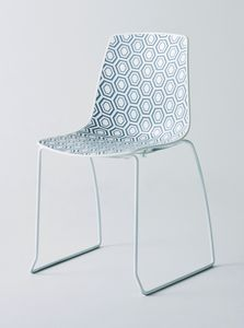 Alhambra S, Chair with sled base, for bars and restaurants