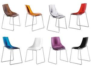 Picture of Diamante, modern metal chairs