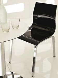 Picture of Gel-r / 655-r, chairs with seat in plastic material
