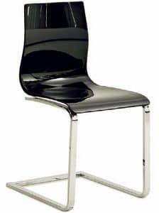 Picture of Gel-sl / 655-sl, linear metal chair