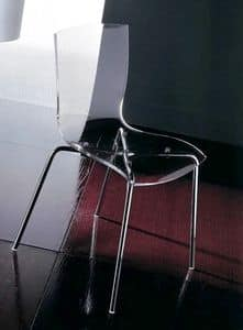 Picture of Hip S0168 methacrylate, chairs with seat in plastic material